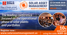 Solar Asset Management North America 2019event picture