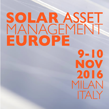 Solar Asset Management Europe 2016event picture