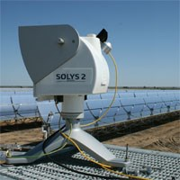 Four SOLYS 2 sun trackers at ACCIONA's twin CSP plantsarticle picture