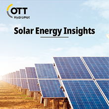 OTT HydroMet's Solar Energy Insightsarticle picture