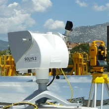 SOLYS 2 Sun Tracker at CNIM's Solar Concentrator Modulearticle picture