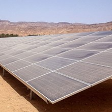 What poses the greatest environmental hazard for solar