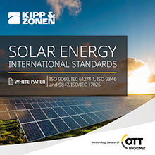 Whitepaper on the International Standards for Solar Energyarticle picture