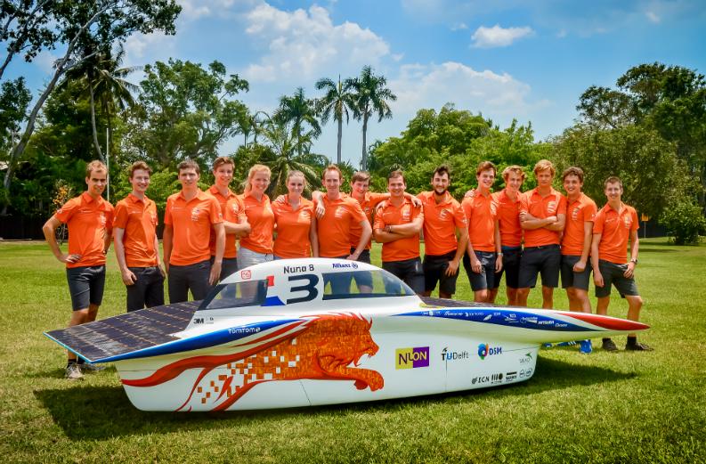 Victory In Australia For The Tu Delft Nuon Solar Team Kipp Zonen