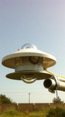 CMA6 albedometer at CSERS Libya