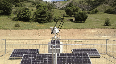 SOLYS 2 sun tracker as solar monitoring station by GE±Net