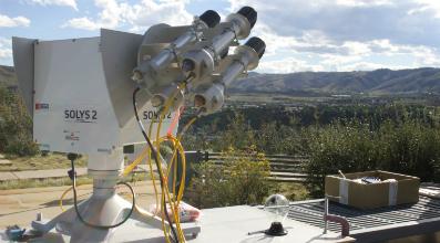 NPC 2013 SOLYS 2 with pyrheliometers