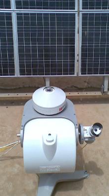 SOLYS 2 set up at the university of Anbar