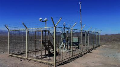 solar radiation measurement station