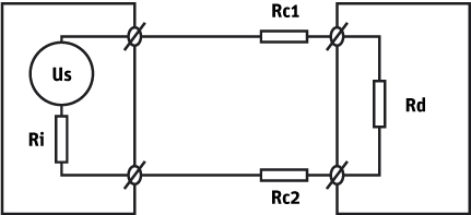 cables and connections kipp zonen us sensor voltage output of the instrument rc1 2 cable wire resistance